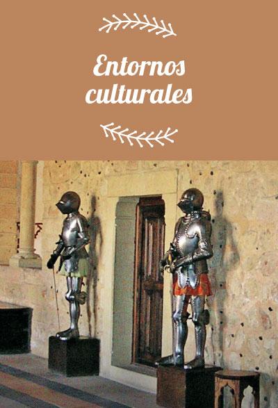 Entornos culturales. Pequevisitas