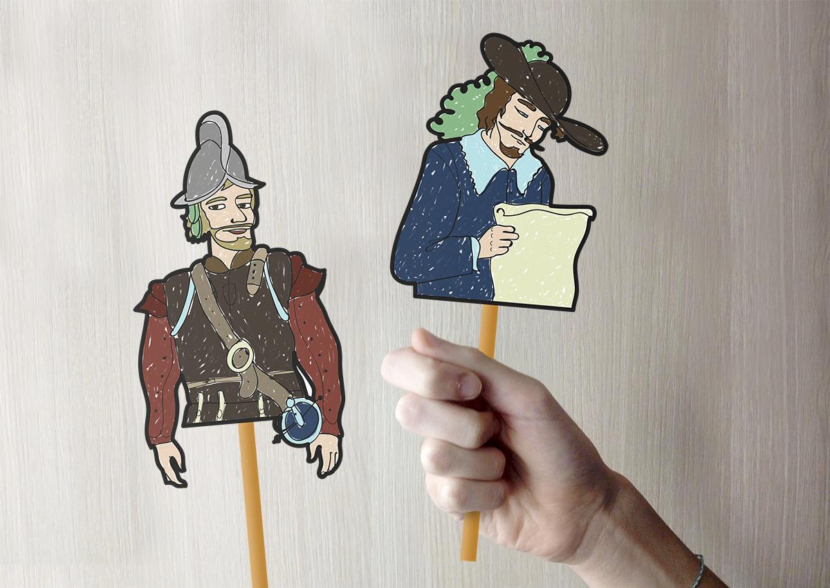 Haz tu marioneta de Beltrán y Martín