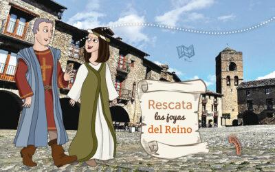 Pequevisitas llega a la villa medieval de Aínsa-Sobrarbe